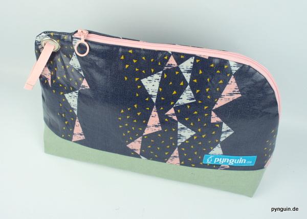 Kulturtasche blau/pink