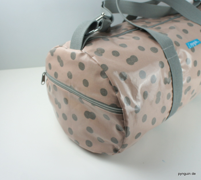 Sporttasche rosa/grau